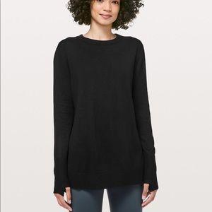 New LULULEMON Still at Ease Pullover Sweater 6
